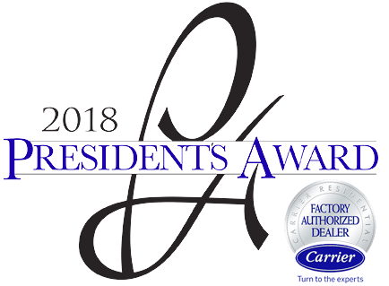 McFarland Indoor Comfort Services 2018 Presidents Award